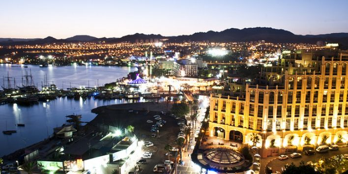 eilat city night