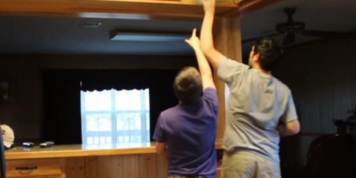 short reach cabinet