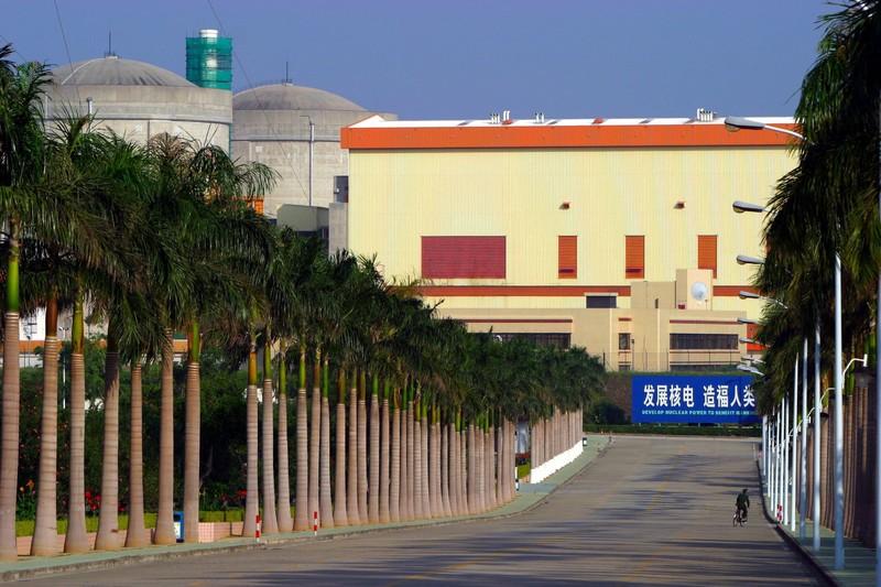 une centrale nucléaire en Chine